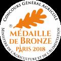 Rillettes pur canard médailles bronze 2018 maison occitane