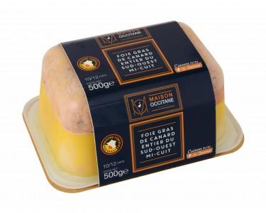 foie gras de canard entier du sud ouest mi cuit en. Black Bedroom Furniture Sets. Home Design Ideas