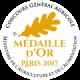 Médaille d'or 2017 au concours générale agricole maison occitane