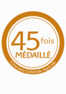 45 fois médaillé au CGA