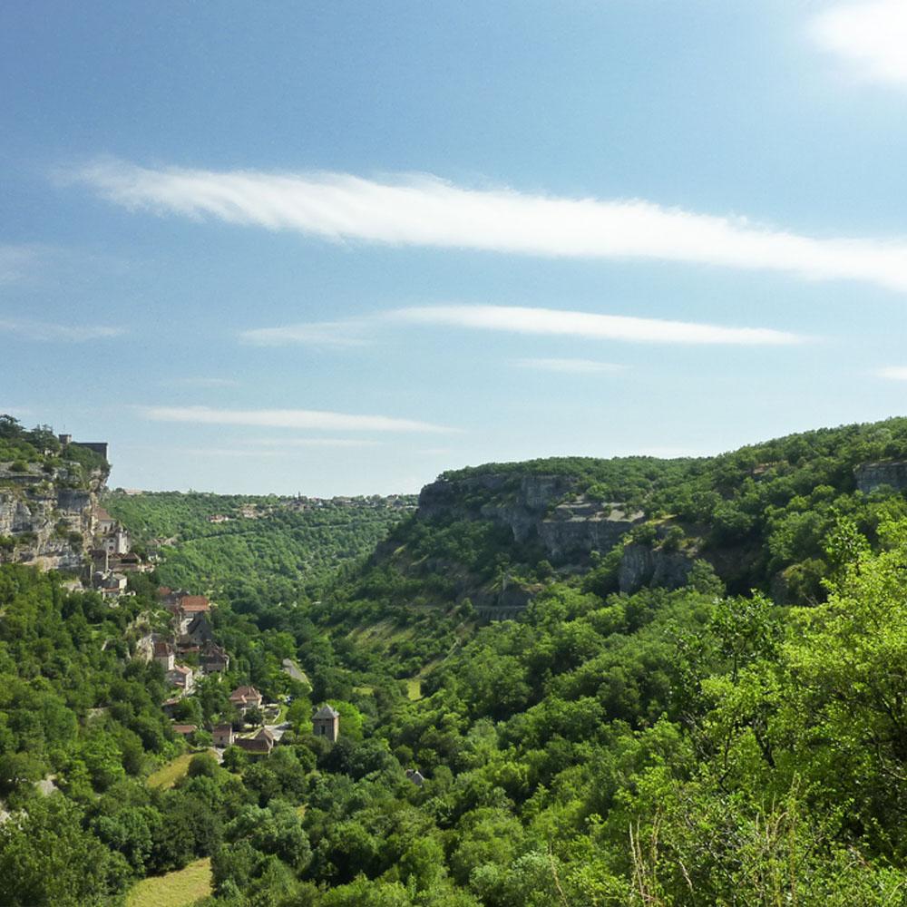 vallée du lot sud ouest IGP maison occitane