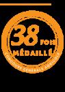 38 médailles maison occitane